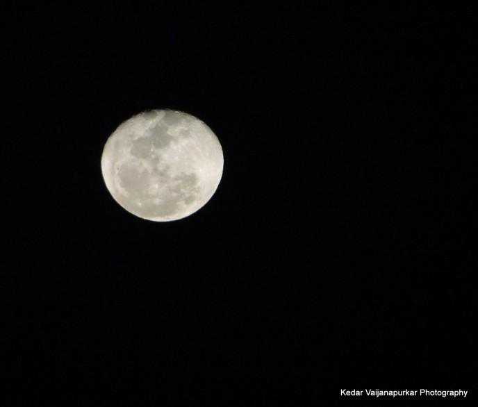 Full Moon From Sony DSC HX1