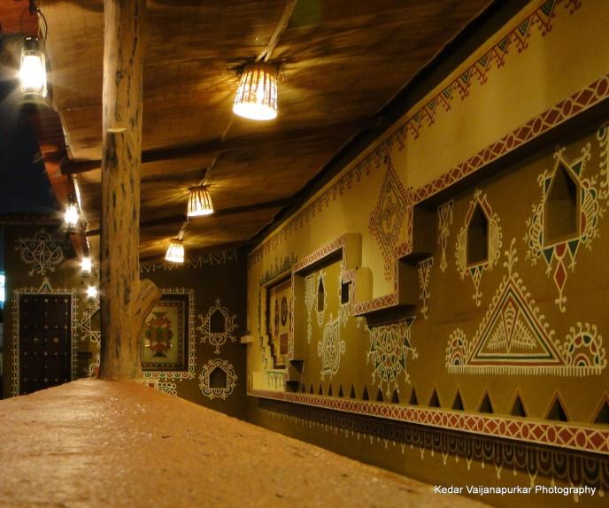 chokhidhani ahmedabad walk-way